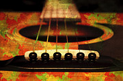 All - Edgy Abstract Eclectic Guitar 28 by Andee Photography