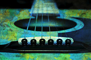 All - Edgy Abstract Eclectic Guitar 29 by Andee Photography