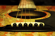 All - Edgy Abstract Eclectic Guitar 30 by Andee Photography