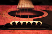 All - Edgy Abstract Eclectic Guitar 7 by Andee Photography