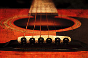 All - Edgy Abstract Eclectic Guitar 8 by Andee Photography