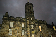 Bill Mock Metal Prints - Edinburgh Castle Metal Print by Bill Mock