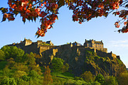 Visitor Prints - Edinburgh Castle  Print by Craig Brown