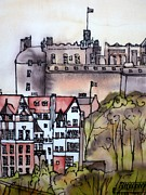 Hazel Millington - Edinburgh castle Scotland