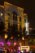 Edison Framed Prints - Edison Hotel SOBE Framed Print by Rene Triay Photography