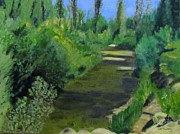 Linda Feinberg - Edna Creek in color
