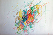 Creativity Drawings - Education 1 by David Wolk