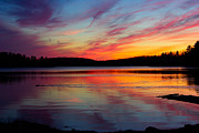 Paul Wash Art - Eel Bay Sunset by Paul Wash