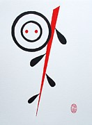 On Paper Painting Originals - Egao no Ha by Pg Reproductions