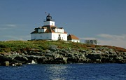 Boaters Photo Prints - Egg Rock Lighthouse Print by Kathleen Struckle