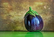 Purple And Green Photos - Eggplant by Kaye Menner