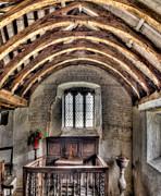 Eglwys Celynnin Sant Print by Adrian Evans