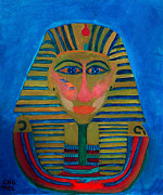 Artprint Painting Prints - Egypt Ancient  Print by Colette V Hera  Guggenheim