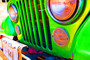Laura Hiesinger Metal Prints - Egypt Car Metal Print by Laura Hiesinger
