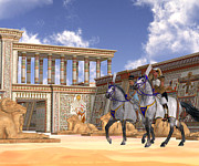 Corey Ford - Egyptian Nobility on Horseback