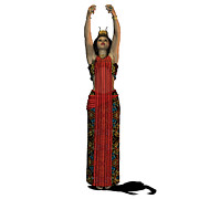 Corey Ford - Egyptian Woman Dress