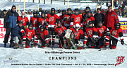 Pond Hockey Photos - EHMHA Peewee Select Champs by Rob Andrus