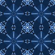 Blue Art Digital Art - Eiffel Art 18 by Mike McGlothlen