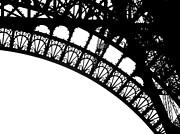Eiffel Metal Crochet  Print by Rita Haeussler