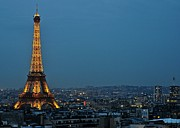 Paris Metal Prints - Eiffel nightscape   Metal Print by Matt MacMillan