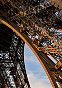Grate Photos - Eiffel Paris by Evie Carrier
