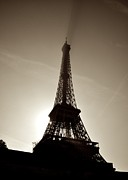 France Photo Originals - Eiffel silhouette by Matt MacMillan