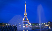 Eiffel Tower Art - Eiffel Sparkle by Adrian Alford