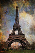 James Bethanis - Eiffel Tower as oil