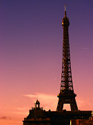 Lynn Bolt - Eiffel Tower at Sunset