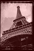 Paris Paintings - Eiffel Tower - Old Style by Patricia Awapara