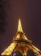 Eiffel Tower - Paris France - 011313 Print by DC Photographer