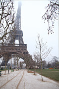 Icon Prints - Eiffel Tower - Paris France - 011316 Print by DC Photographer