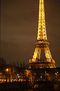 Steel Art - Eiffel Tower - Paris France - 011322 by DC Photographer