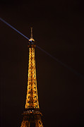Steel Photo Prints - Eiffel Tower - Paris France - 011333 Print by DC Photographer
