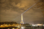 Tower Photo Prints - Eiffel Tower - Paris France - 011335 Print by DC Photographer