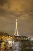 Eiffel Tower - Paris France - 011339 Print by DC Photographer