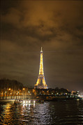 Eiffel Tower - Paris France - 011340 Print by DC Photographer