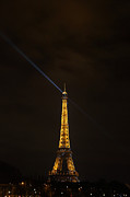 Lamps Prints - Eiffel Tower - Paris France - 011347 Print by DC Photographer
