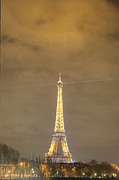 Eiffel Tower - Paris France - 011351 Print by DC Photographer