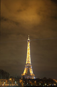 Exterior Photo Framed Prints - Eiffel Tower - Paris France - 011352 Framed Print by DC Photographer