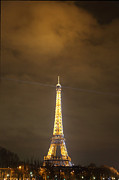 Steel Photo Metal Prints - Eiffel Tower - Paris France - 011355 Metal Print by DC Photographer