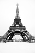 Capitale Photos - Eiffel tower under the snow by Philippe LEJEANVRE