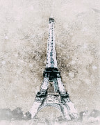 Shanina Conway - Eiffel Tower Wall Art