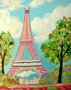 Karen Fields - Eiffel Tower Whimsical