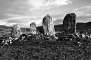 Standing Stones Prints - Eightercua Stone Alignment - County Kerry - Ireland Print by Aidan Moran