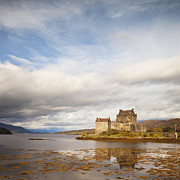 Reconstruction Posters - Eilean Donan Castle Highland Scotland Poster by Colin and Linda McKie