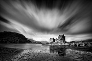 White Water Posters - Eilean Donan Castle I Poster by David Bowman