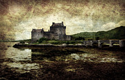Martyr Metal Prints - Eilean Donan castle in Scotland Metal Print by RicardMN Photography