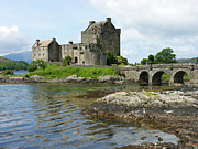 The Clan Art - Eilean Donan Castle - summer by Phil Banks