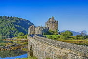 Scotland Prints Framed Prints - Eilean Donan Castle walkway Framed Print by Chris Thaxter